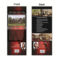 "Real Estate Box Flyer 3.5""X8.5"" 5009"""