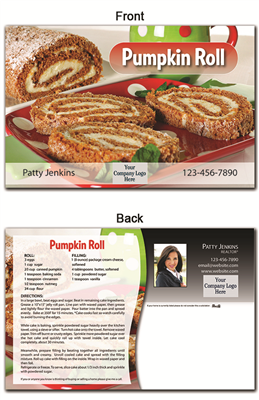 KIT Recipes: Fall: Pumpkin Roll