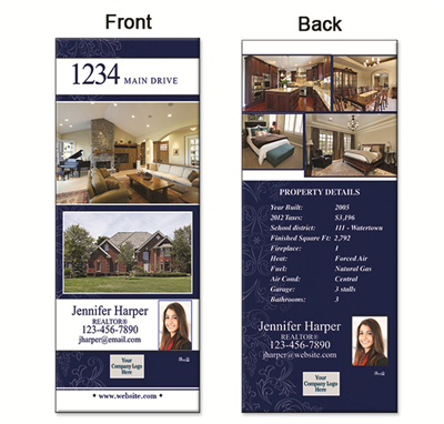 "Real Estate Box Flyer 3.5""X8.5"" 5004"""