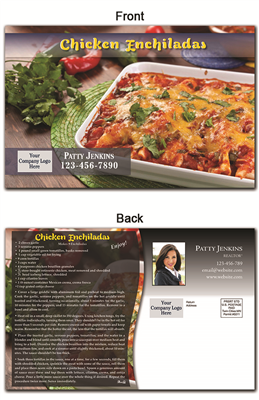 KIT Recipes: Main Dishes: Chicken Enchiladas