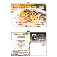 KIT Recipes: Main Dishes: Crab Corn Cakes