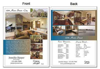 "Real Estate Flyer 8.5""X11"" 2999"""