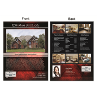 "Real Estate Flyer 8.5""X11"" 3008A"""