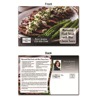 KIT Recipes: Main Dishes: Steak w/ Blue Cheese Sauce
