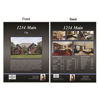 "Real Estate Flyer 8.5""X11"" 3005"""