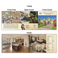 "Real Estate Flyer Trifold 5.5"" x 5.5"" 5003"
