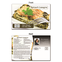 KIT Recipes: Main Dishes: Spinach Lasagna