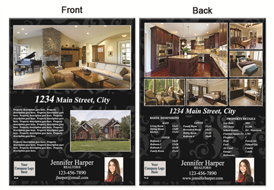 "Real Estate Flyer 8.5""X11"" 3009A"""