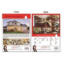 "Real Estate Flyer 8.5""X11"" 3000A"""