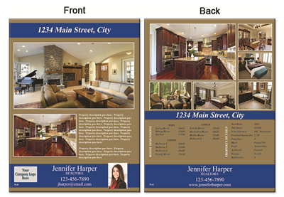 "Real Estate Flyer 8.5""X11"" 3001"""