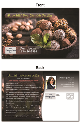 KIT Recipes: Desserts: Chocolate Truffles