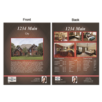 "Real Estate Flyer 8.5""X11"" 3006A"""
