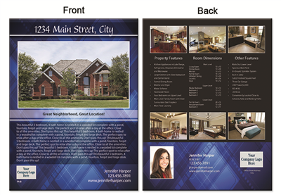 "Real Estate Flyer 8.5""X11"" 3008"""