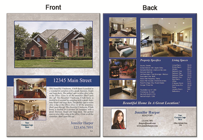 "Real Estate Flyer 8.5""X11"" 3009"""
