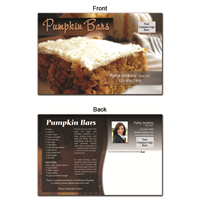 KIT Recipes: Fall: Pumpkin Bars