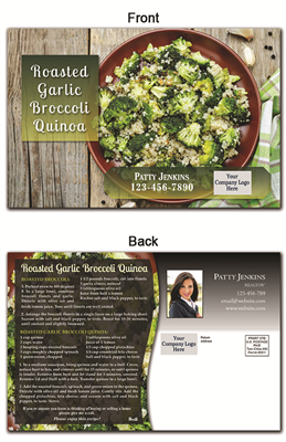 KIT Recipes: Side Dishes: Garlic Broccoli Quinoa