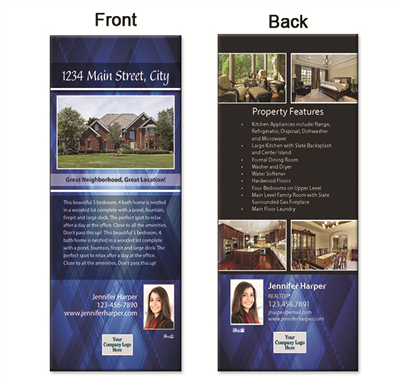 "Real Estate Box Flyer 3.5""X8.5"" 5008"""