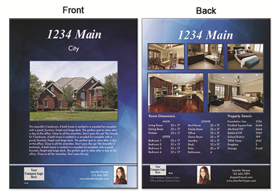 "Real Estate Flyer 8.5""X11"" 3006"""