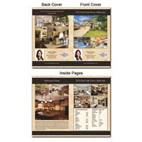 "Real Estate Flyer 8.5""X11"" Foldover 4001"