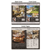 "Real Estate Flyer 8.5""X11"" Foldover 4005"