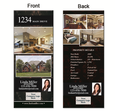 "Real Estate Box Flyer 3.5""X8.5"" 5002A"""