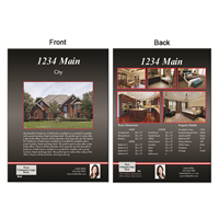 "Real Estate Flyer 8.5""X11"" 3005A"""