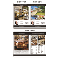 "Real Estate Flyer 8.5""X11"" Foldover 4000"